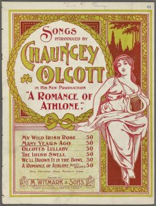 Many years ago / words and music by Chauncey Olcott.