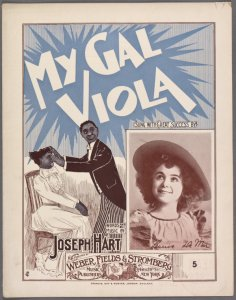 My gal Viola / words and music by Joseph Hart.