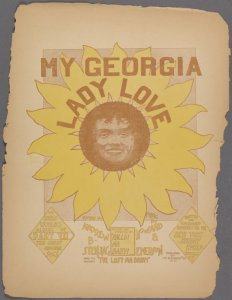 My Georgia lady-love / words by Andrew B. Sterling ; music by Howard & Emerson.