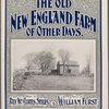 The old New England farm of other days
