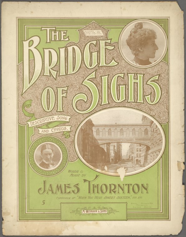 The Bridge of Sighs / words and music by James Thornton.