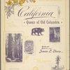 California, Queen of old Columbia
