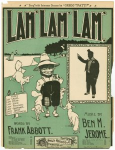 Lam', Lam', Lam' / words by Frank Abbott ; music by Ben M. Jerome.