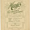 Muffs, or, The husband's mistake