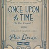 Once upon a time  (Es war einmal)