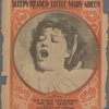 Sleepy-headed little Mary Green