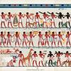 Grand Procession. Part I.  From a Tomb at Thebes.