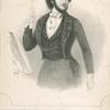 Monsr. Jullien, conductor of the Promenade Concerts at the English Opera House.