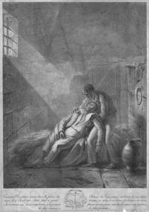 Toussaint L'Ouverture meurt dans la prison du Château de Toux.