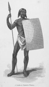A Lunda or Cazembe Warrior