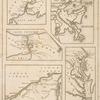 Principal seats of the war of 1812-13-14