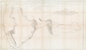 Map of an exploring expedition to the Rocky Mountains in the year 1842 and to Oregon & north California in the years 1843-44 / by Brevet Capt. J.C. Frémont of the Corps of Topographical Engineers under the orders of Col. J.J. Abert, Chief of the Topographical Bureau.