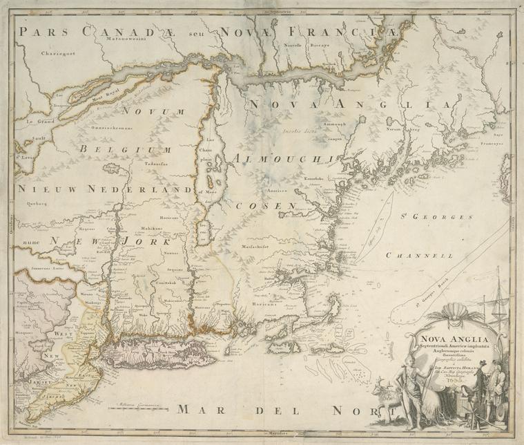 Fascinating Historical Picture of Johann Baptist Homann in 1759