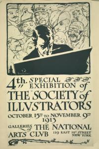 The Society of Illustration Digital ID: 1259037. New York Public Library