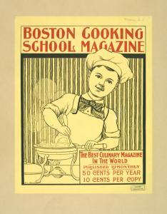 Boston Cooking School Magazine Digital ID: 1259205. New York Public Library