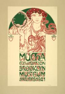 Mucha Exhibition Brooklyn Muse... Digital ID: 1259223. New York Public Library