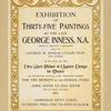 Ex. Of 35 Paintings by George Inness