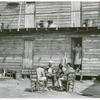 "Hotel"" in Pahokee, Lake Okeechobee, Florida, living quarters for migratory agricultural workers, February 1941."