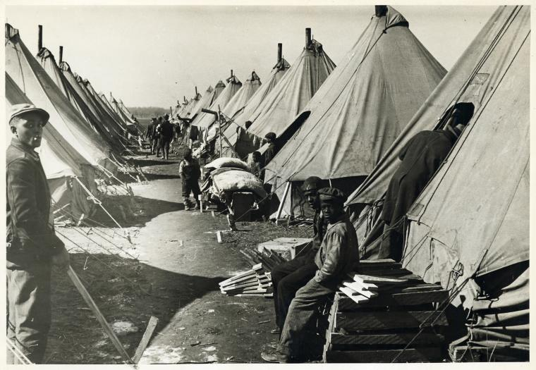 Flood refugee camp, Forrest City, Ark.