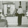 Post office inside plantation store, Mileston, Mississippi Delta, November 1939.
