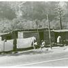 Shacks inhabited by Negroes along highway between Charleston and Gauley Bridge, W. Va., Sept. 1938.