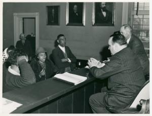 Court day, Rustburg, Va., Mar. 1941.