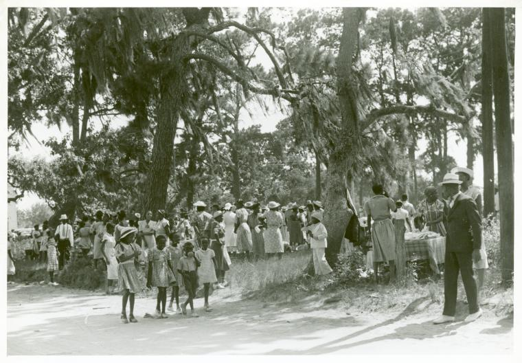 Fourth of July celebration, St. Helena Island, South Carolina.