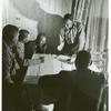 Meeting of farmers at Southeast Missouri Project to discuss problems, May 1940.