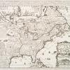 Carte de la Nouvelle France : où se voit le cours des Grandes Rivieres de S. Laurens & de Mississipi, aujour d'hui S. Louïs, aux environs des-quelles se trouvent les etats, païs, nations, peuples &c. de la Floride, de la Louïsiane, de la Virginie, de la Marie-lande, de la Pensilvanie, du Nouveau Jersay, de la Nouvelle Yorck, de la Nouv. Angleterre, de l'Acadie, du Canada, des Esquimaux, des Hurons, des Iroquois, des Ilinois &c., et de la Grande Ile de Terre Neuve