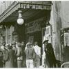 Entrance to a movie house, Beale Street, Memphis, Tennessee, October 1939.