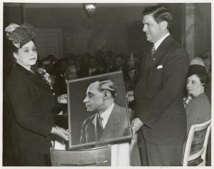 At launching of SS Robert L. Vann.