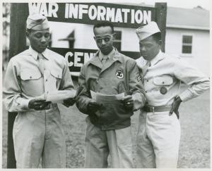 Training at Fort Benning.
