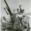 School children learn how anti-aircraft guns operate in the Third War Loan Drive in Washington, D.C.