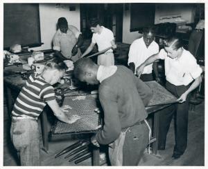 Dobbins Vocational School - Class in soldering. [Philadelphia, Pennsylvania]