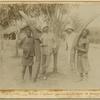 Congo Français; Défenses d'éléphant provenant de la région de Brazzaville.