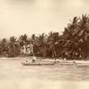 Launching Canoes. Runaway Bay.