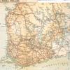 Karta öfver Södra Finland.