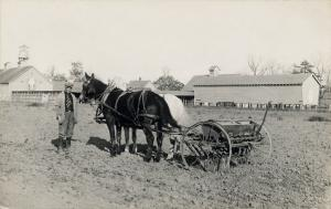 [Teaching farming skills; Howard Orphanage and Industrial School.]