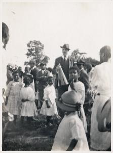 [Outdoor activities; Howard Orphanage and Industrial School chidlren.]