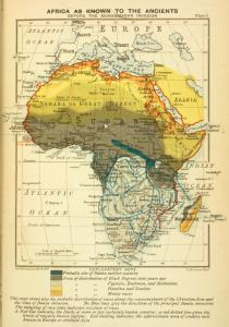 Africa as known to the Ancients; Before the Muhammadan Invasion.
