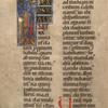 St. Oswald, historiated initial