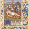 Leaf with miniature of the Lamentation