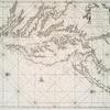 Pas kaart van de zee kusten van Virginia.