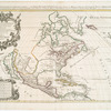 Amerique septentrionale divisée en ses principales parties : ou sont distingués les vns des autres les estats suivant quils appartiennent presentemet aux Francois, Castillans, Anglois, Suedois, Danois, Hollandois, tirée des relations de toutes ces nations