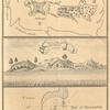 Plan of the fort of Mozambik from de Faria; Prospect of Mozambik from Herbert; Coast of Mozambik; Bay of Mozambik