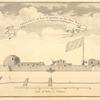 Prospect of fort St. Louis on the east side