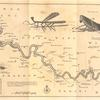 A map of the River Gambra from Eropina to Barrakunda; [Insects found on the River Gambra]