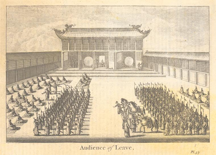 Fascinating Historical Picture of Thomas Astley in 1745