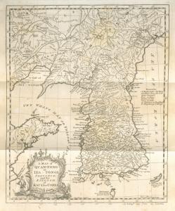 A map of Quan-tong or Lea-tonge; Province and the Kingdom of Kau-li or Corea.
