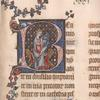 Psalm 1, David playing Harp.